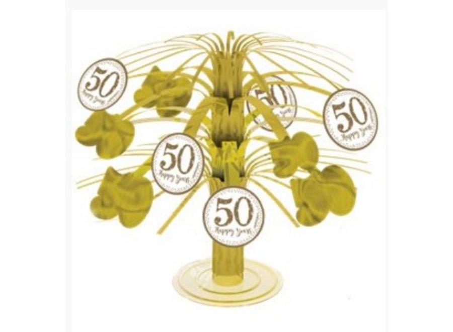 50 jaar huwelijk tafel decoratie