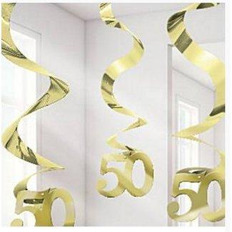 50 jaar slingers jubileum goud