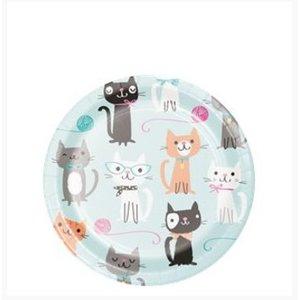 Purr-fect kat gebaksborden