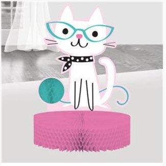 Purr-fect kat tafel versiering