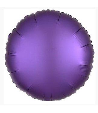 Paars satijn ballon
