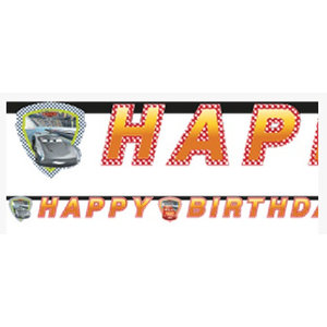 Cars 3 happy birthday slinger