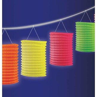 Neon lampionnen slinger