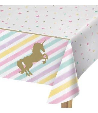 Eenhoorn  Unicorn pastel tafelkleed