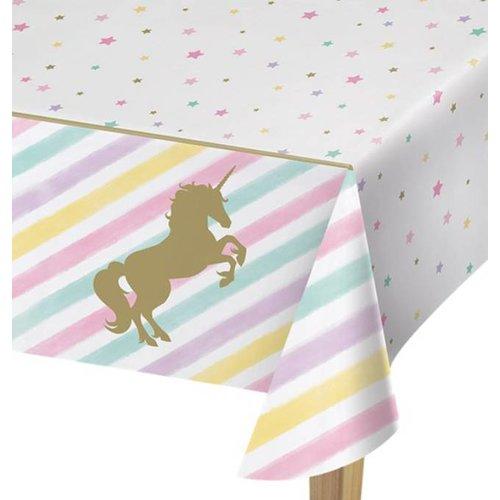 Unicorn pastel tafelkleed