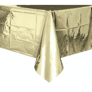 Metallic goud tafelkleed