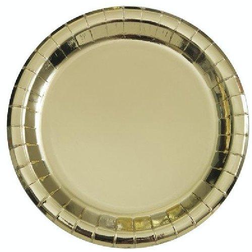 Metallic goud borden