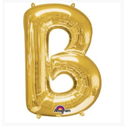 Letter ballon goud