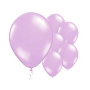 Lila shine ballonnen