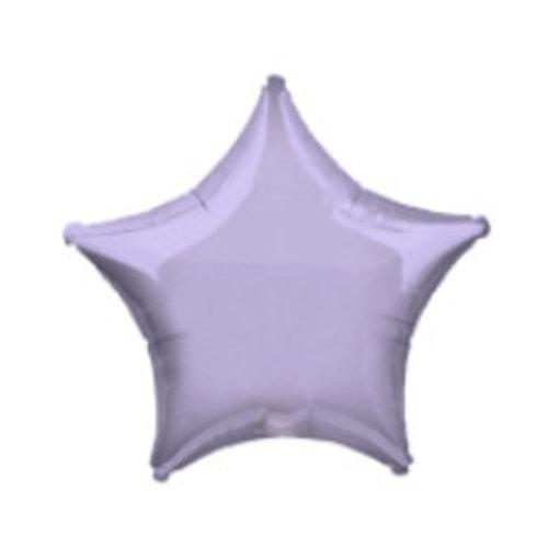 Lila pastel ster ballon