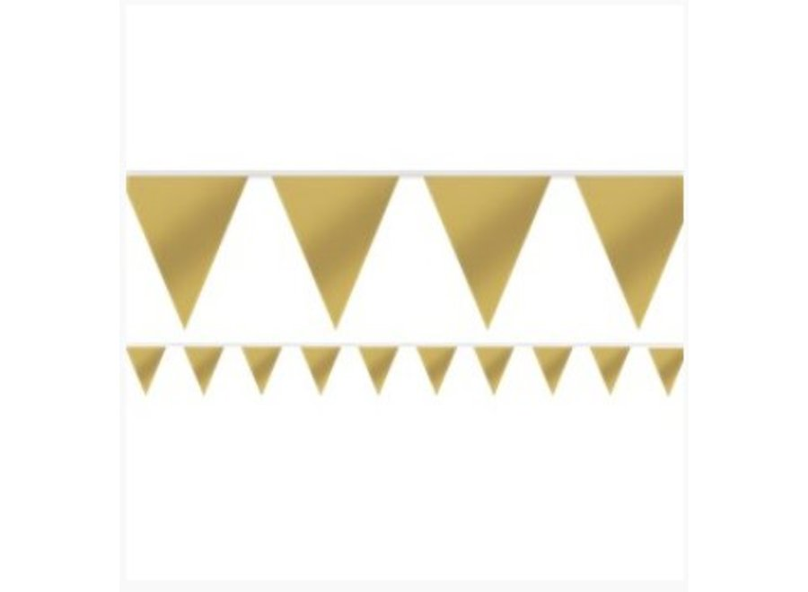 Vlaggetjes goud