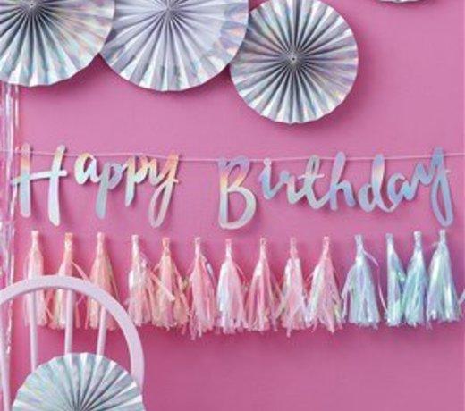 Hooray pastel feestartikelen & versiering