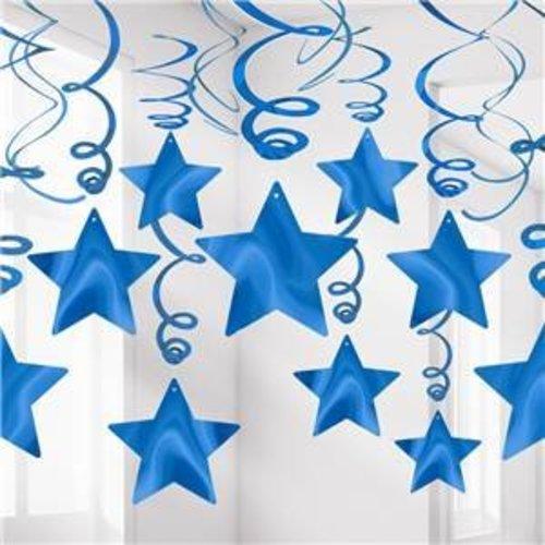 Blauwe feestartikelen & versiering