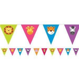 Amscan  Safari vlaggetjes