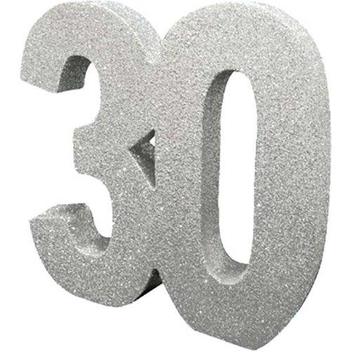 30 jaar tafel versiering zilver