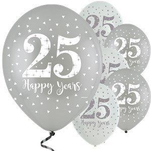 25 jaar getrouwd ballonnen