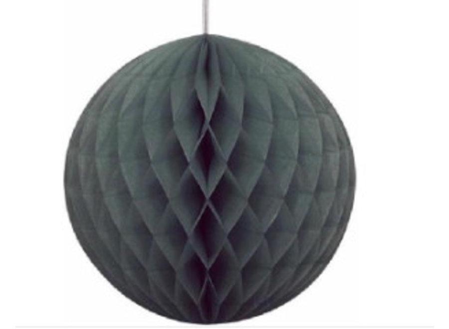 Zwarte honeycomb bal