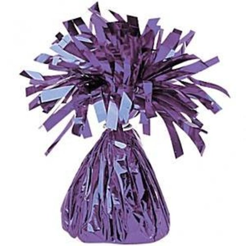 Ballonnen gewicht paars