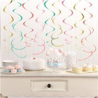 Pastel swirl slingers