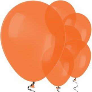 Sempertex ballonnen  Oranje ballonnen satijn  L