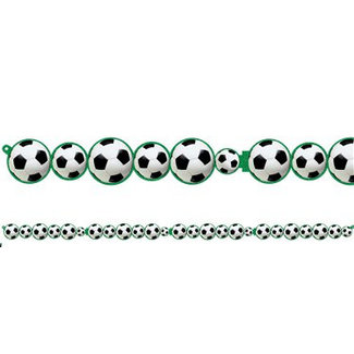 Voetbal slinger groen