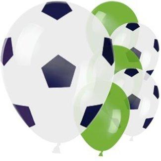 Voetbal ballonnen groen