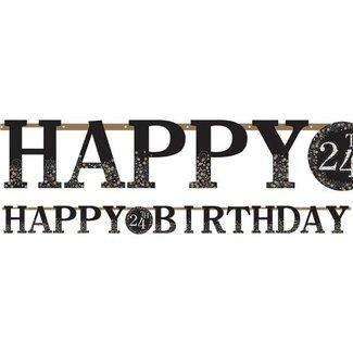 Happy birthday slinger goud alle leeftijden