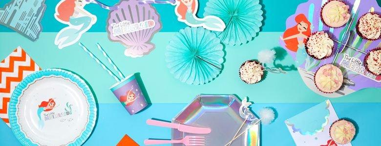 Ariel de kleine zeemeermin feestartikelen & versiering