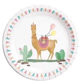 Lama party borden