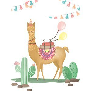 Lama party tasjes