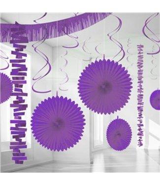 Amscan  Versiering set paars