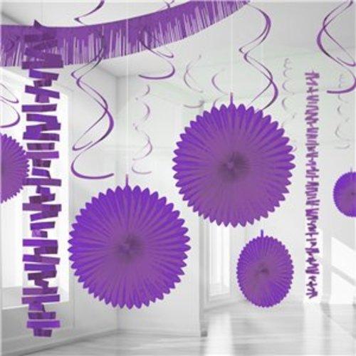 Versiering set paars