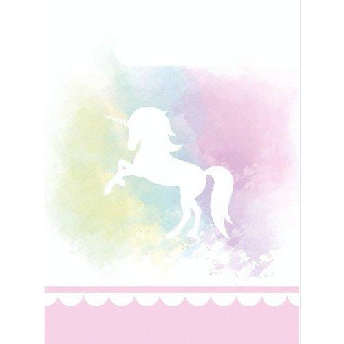 Unicorn pastel roze snoepzakjes