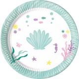 Schelp pastel borden