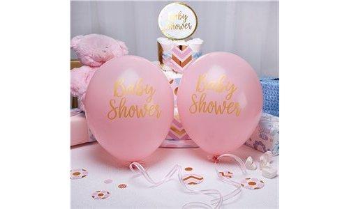 Geboorte / Babyshower feestartikelen roze
