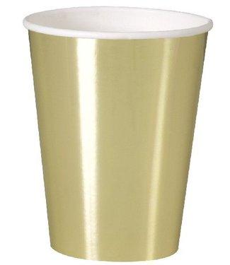 Metallic goud bekers