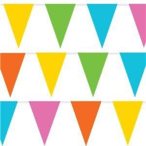 Regenboog pastel vlaggetjes