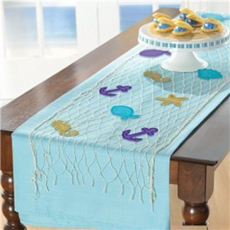 Mermaid tafel loper net