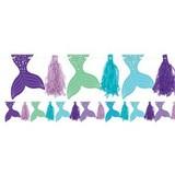 Mermaid tassel garland