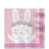 Bunny pastel servetten