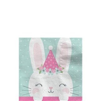 Bunny servetten mint