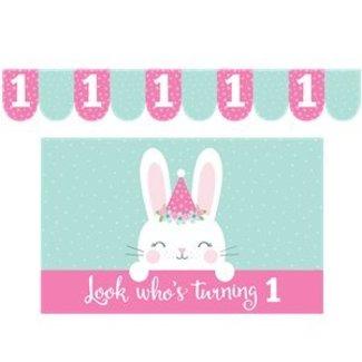 Bunny kinderstoel versiering