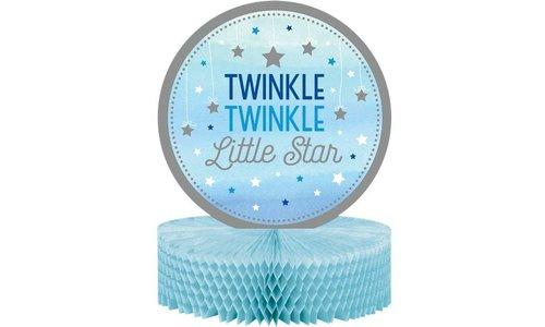 Twinkle twinkle litte star blauw feestartikelen