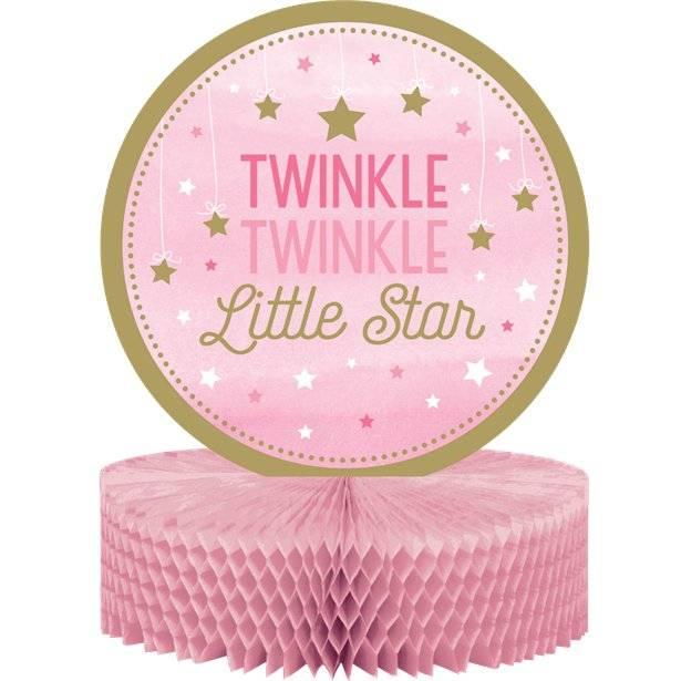 Twinkle Twinkle little star roze feestartikelen voor een meisje