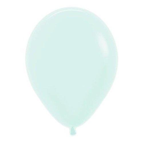 Amscan  Mint groen mat ballonnen