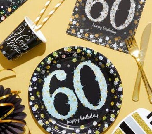 60 Jaar Feestartikelen & versiering
