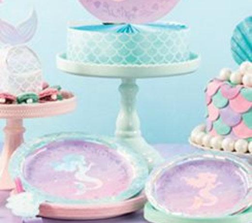 Mermaid shine feestartikelen en versiering