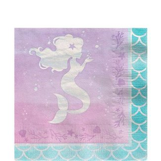 Mermaid shine servetten