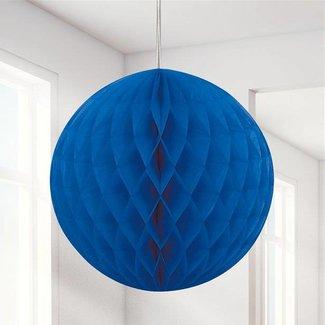 Blauwe honeycomb