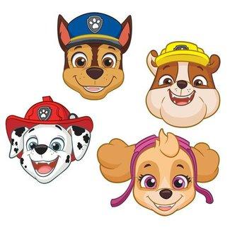 Paw patrol maskers blauw